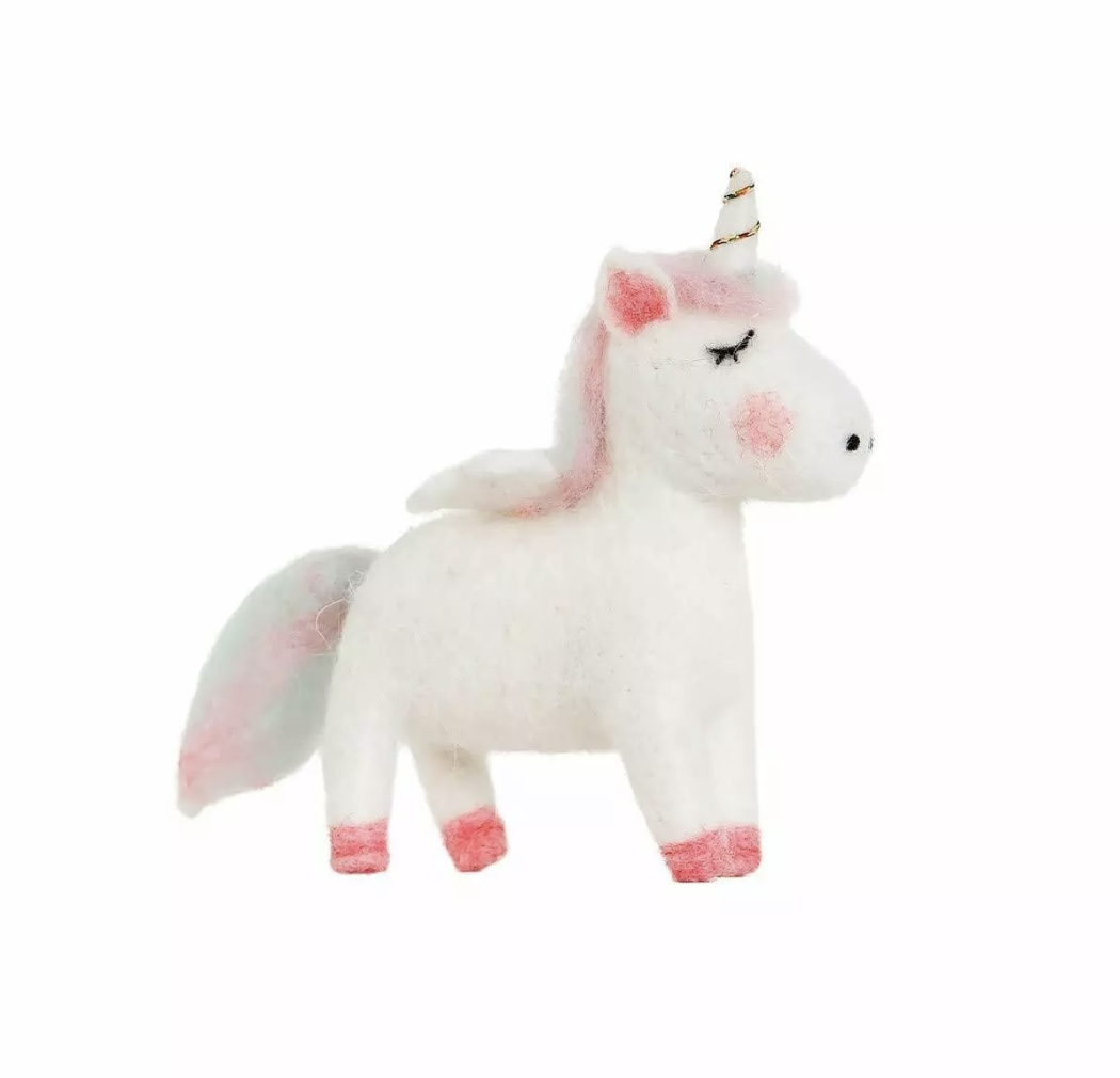 Dreamy Felt Unicorn