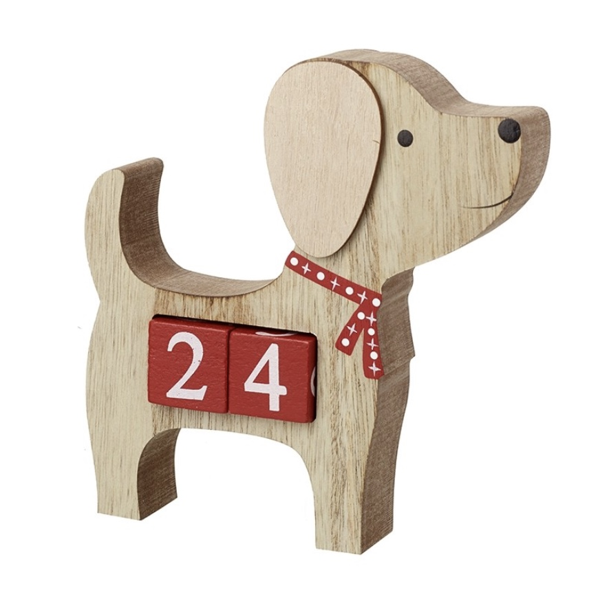 Dog Countdown Advent