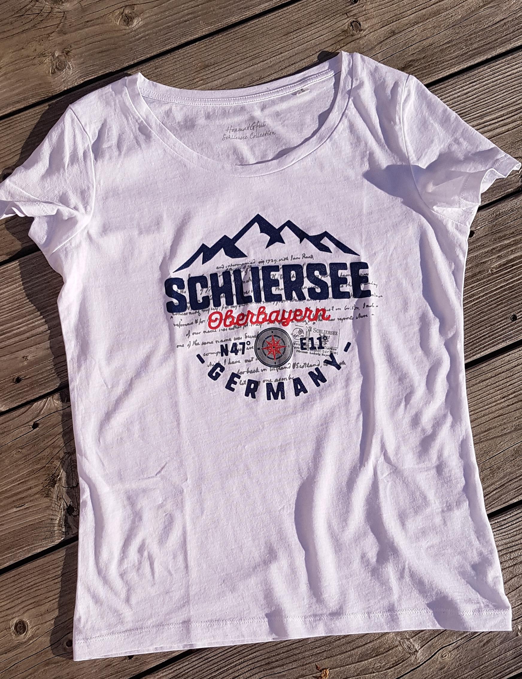 Schliersee N47° E11° T-Shirt Damen