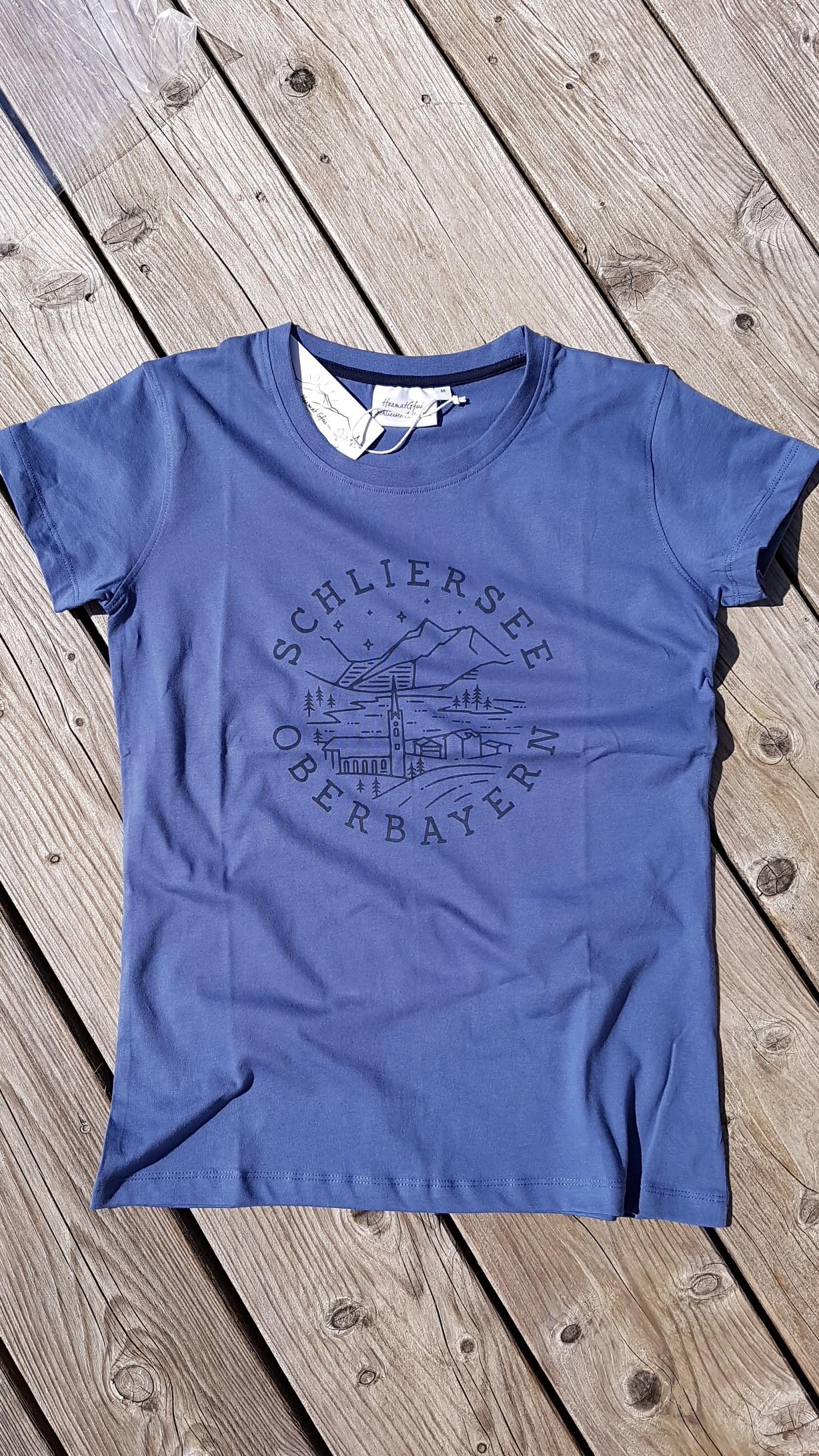 Schliersee rund T-Shirt Damen
