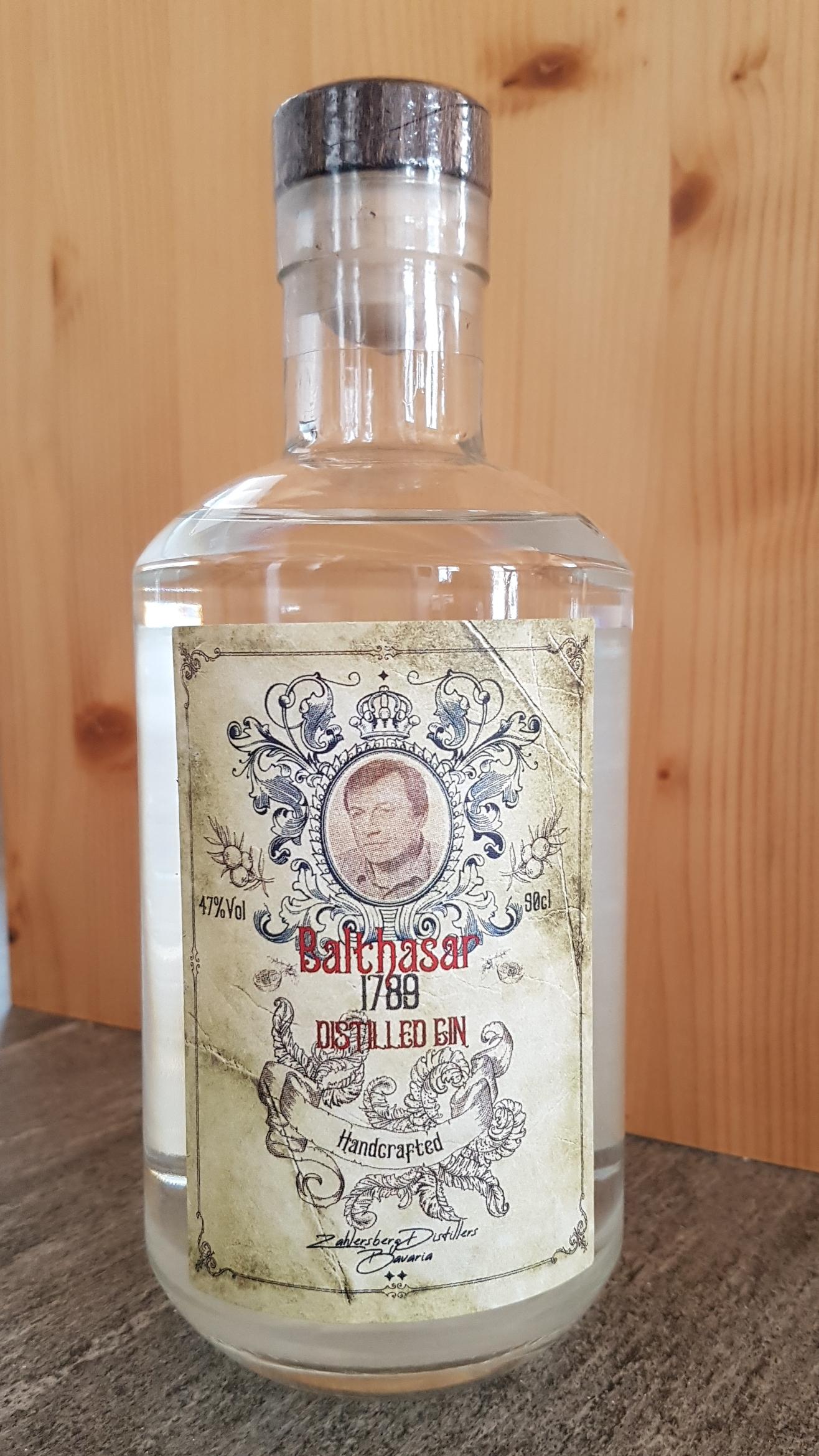 Zahlersberg - Gin BALTHASAR 1789