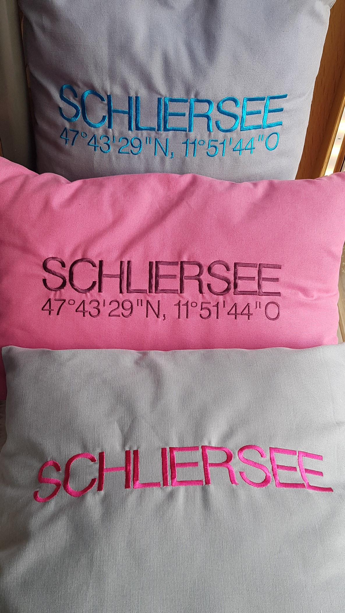 Kissen Schliersee 50x50cm