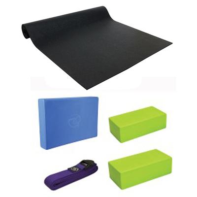 Studio Pro Mat, block, bricks and belt set