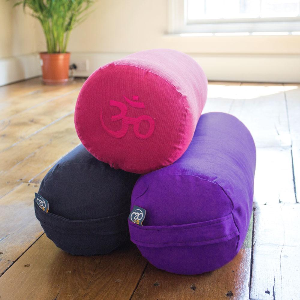 Buckwheat Yoga Bolster