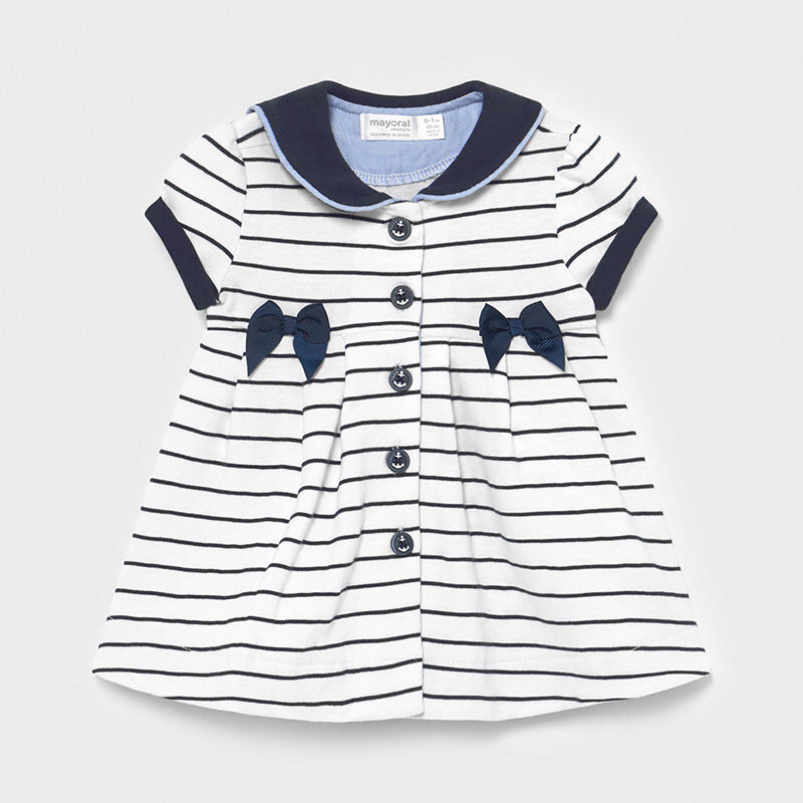 MAYORAL BABY GIRL Sailor Dress 1801-039