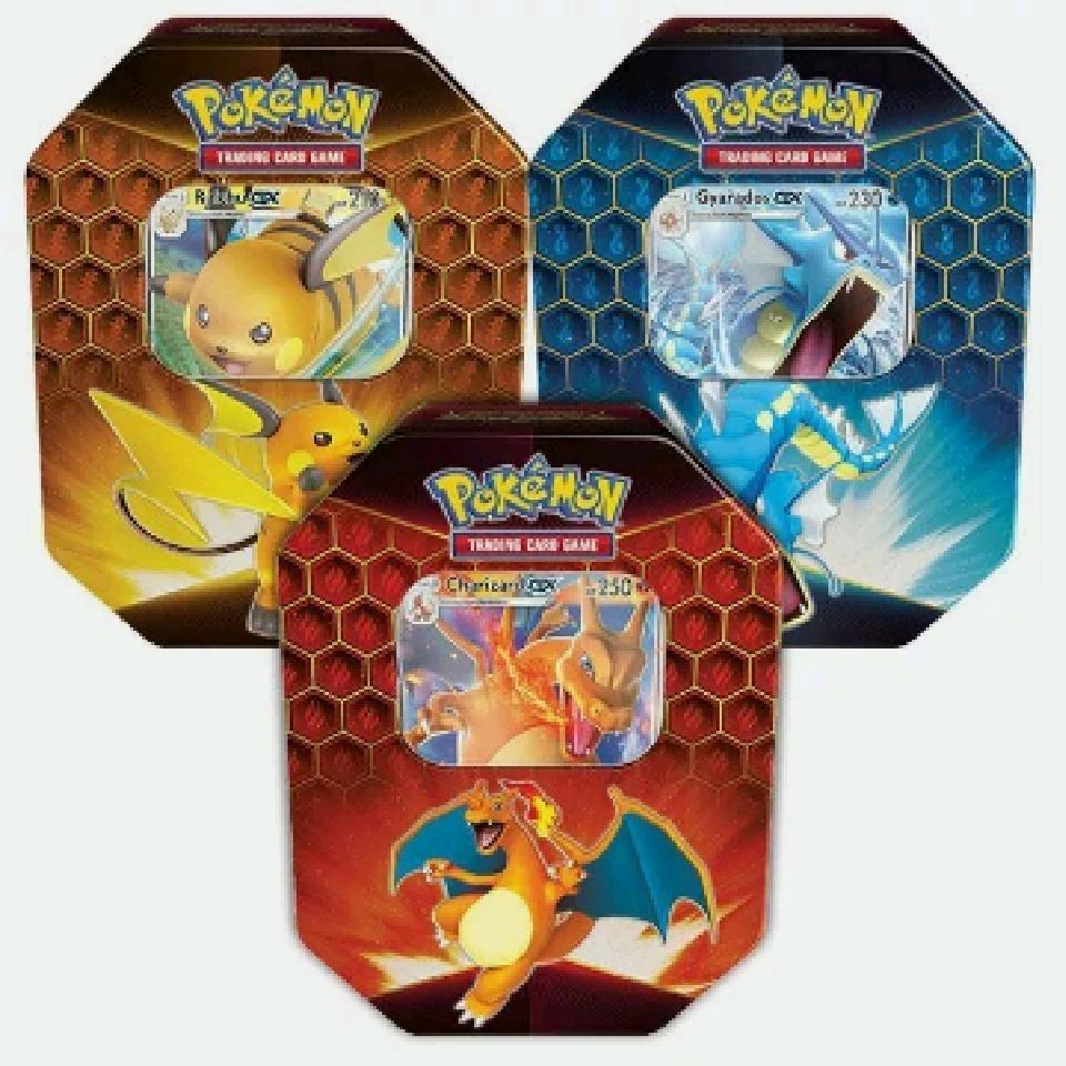 Pokémon tin hidden fates
