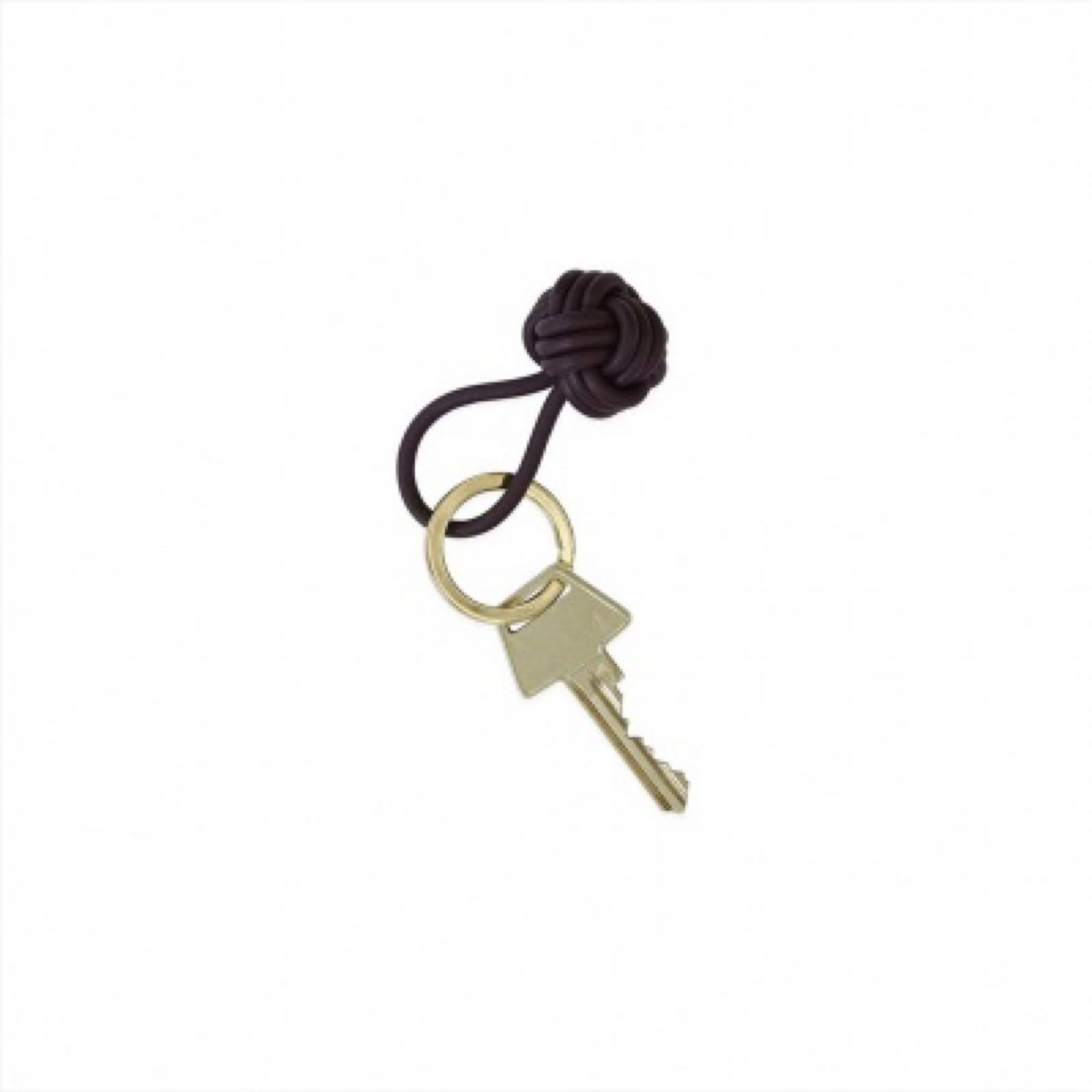 OYOy avaimenperä solmu tummanruskea