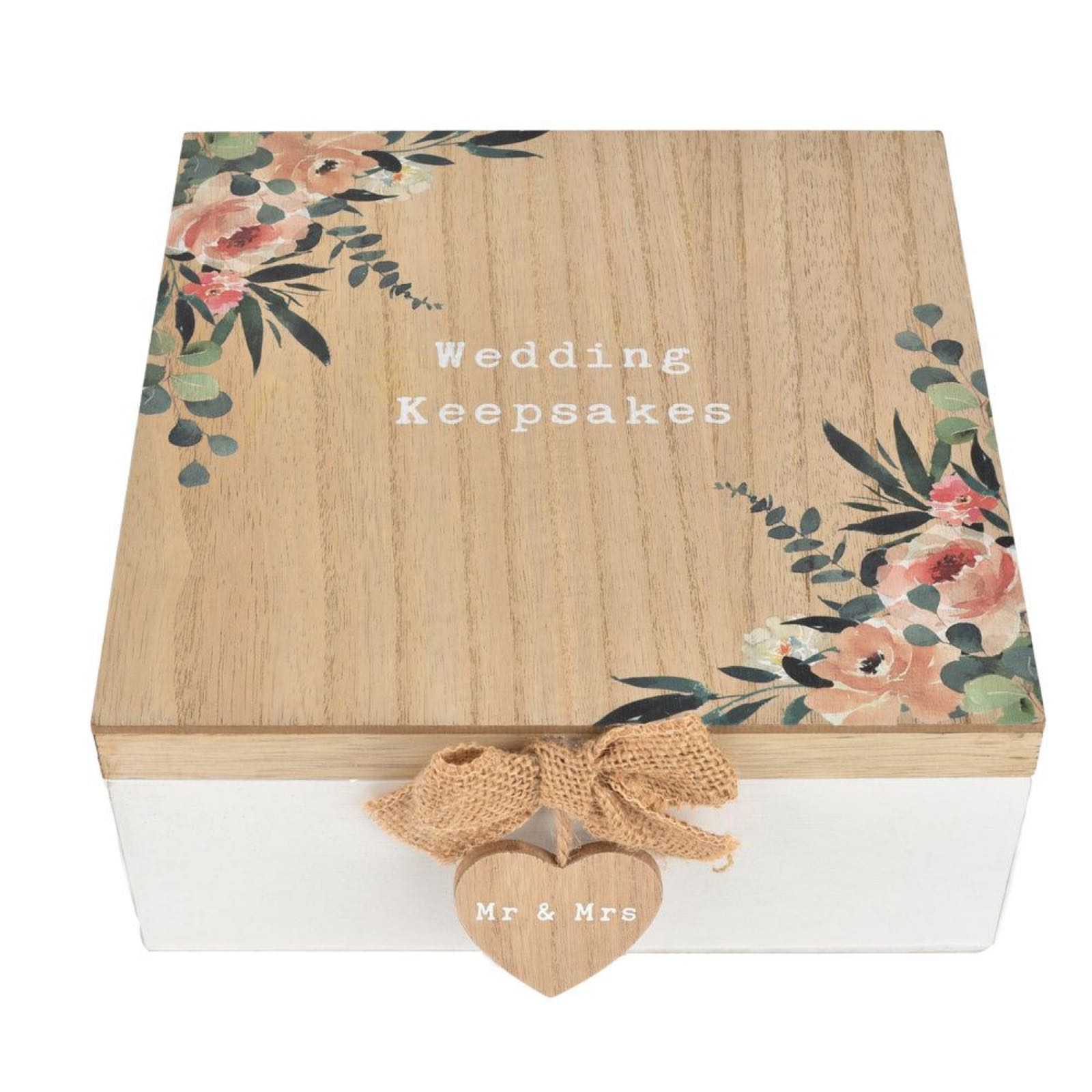 Wedding Keepsake Box (can be personalised)