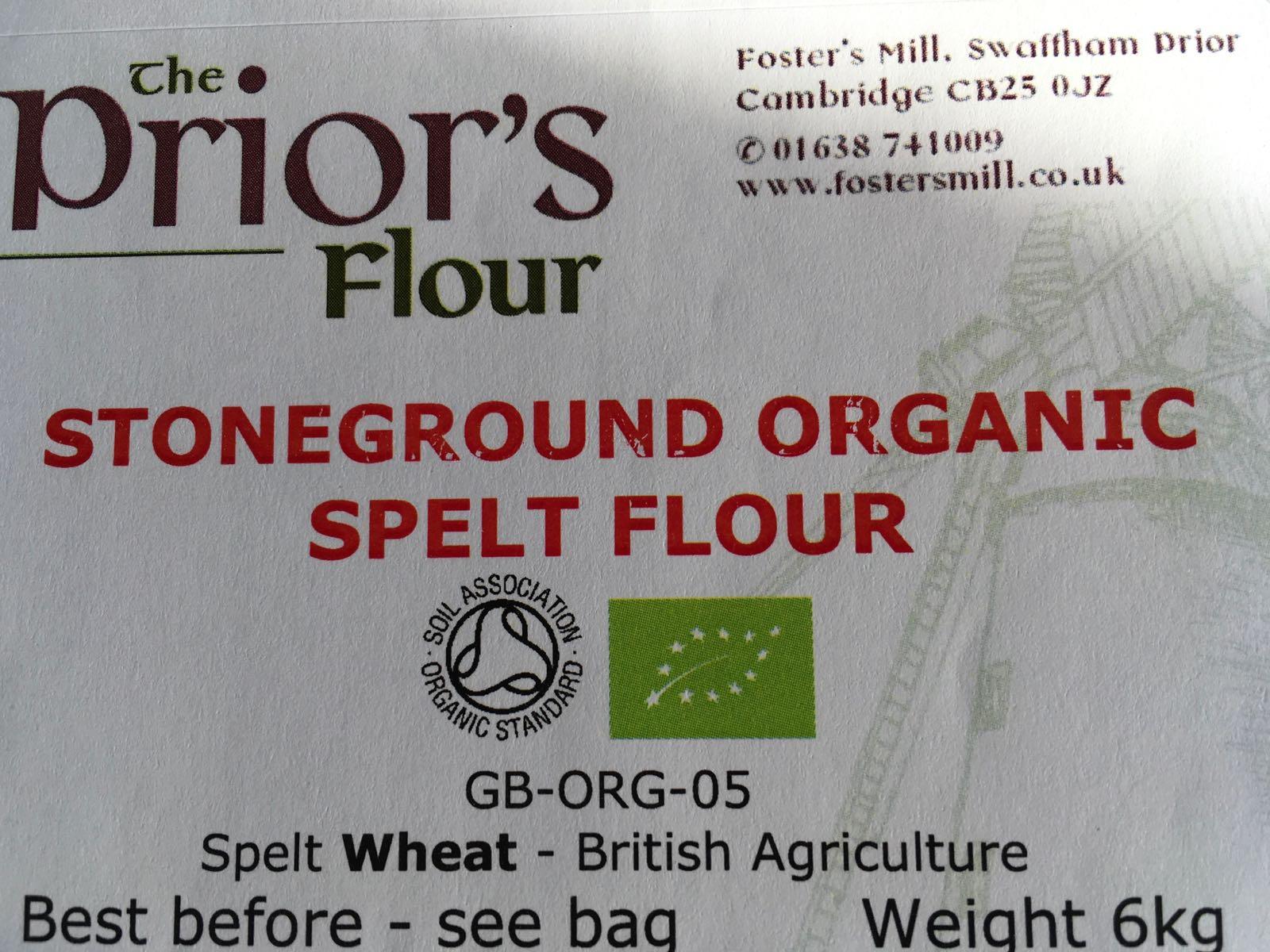 Spelt Flour 25kg