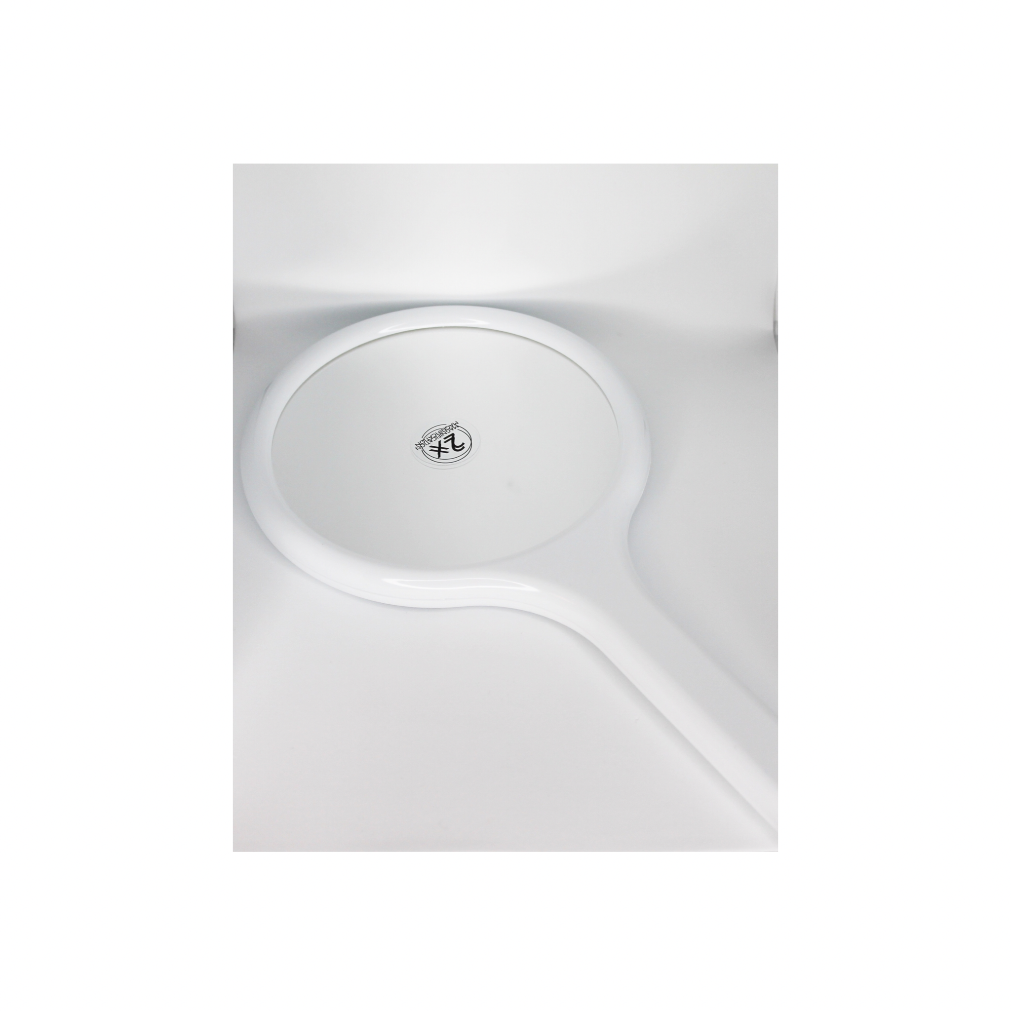 Handspegel / Hand mirror, White