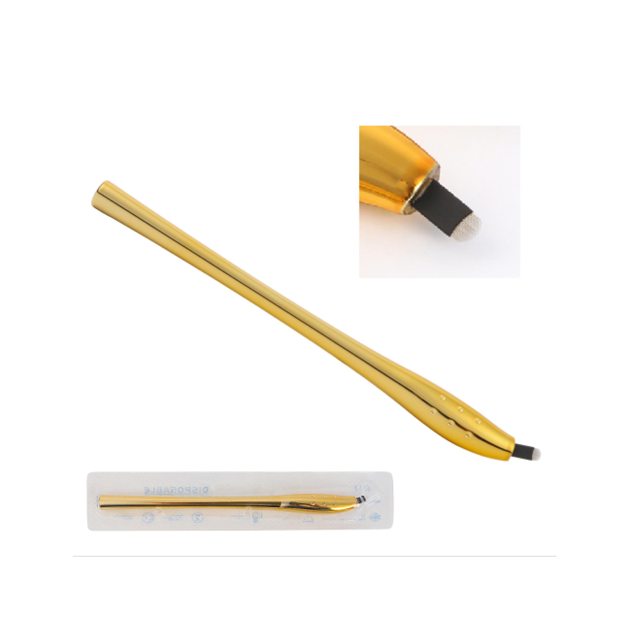 Microbladingnål och penna / Microblading needle and pen 0,20 mm