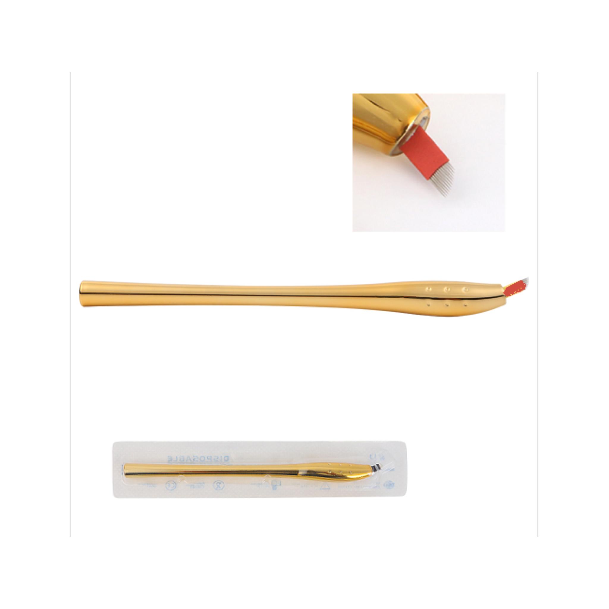 Microbladingnål och penna / Microblading needle and pen 0,25 mm