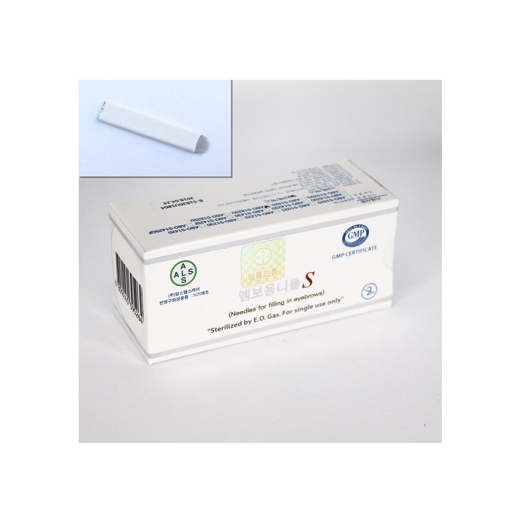 Microbladingnål, U-form,ALS, 20 st