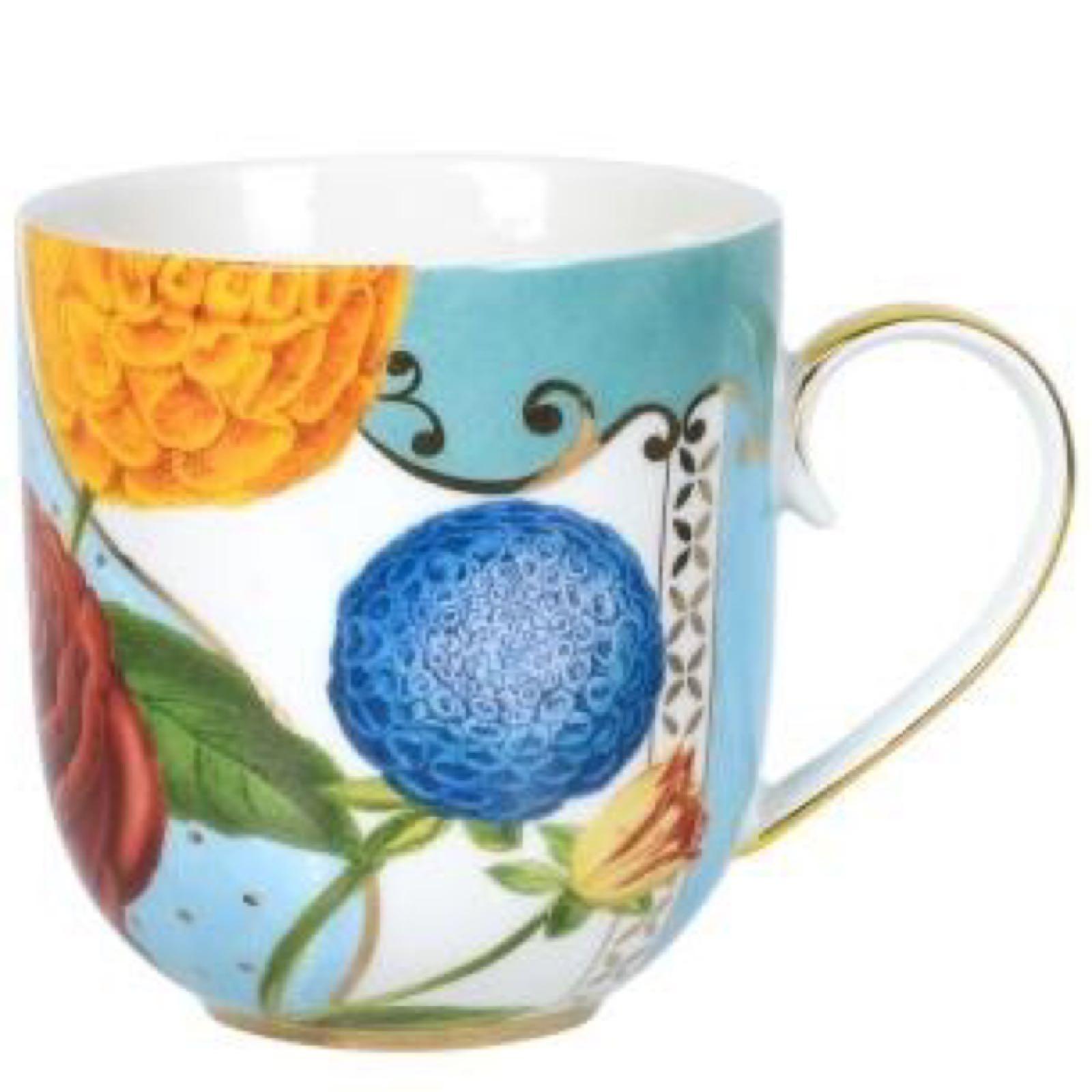 Pip studio large royal flowers mug