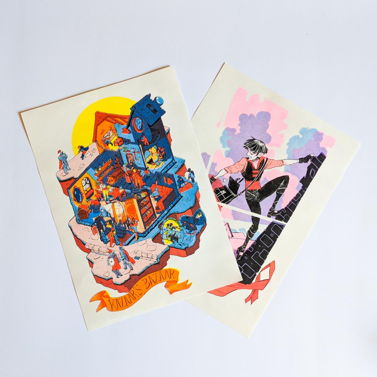 Prints- #JanStand & Kazaar's Bazaar