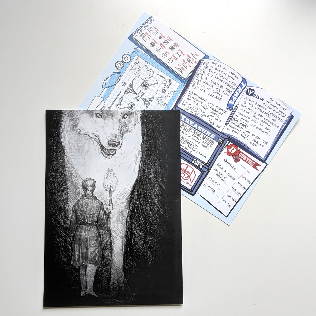 Postcard - Sköll