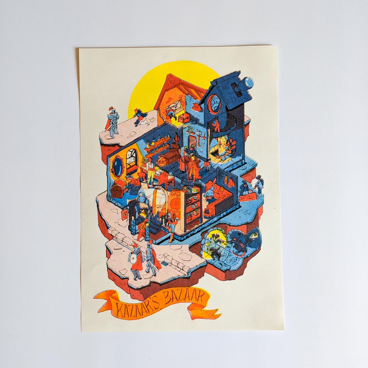 Print- Kazaar's Bazaar