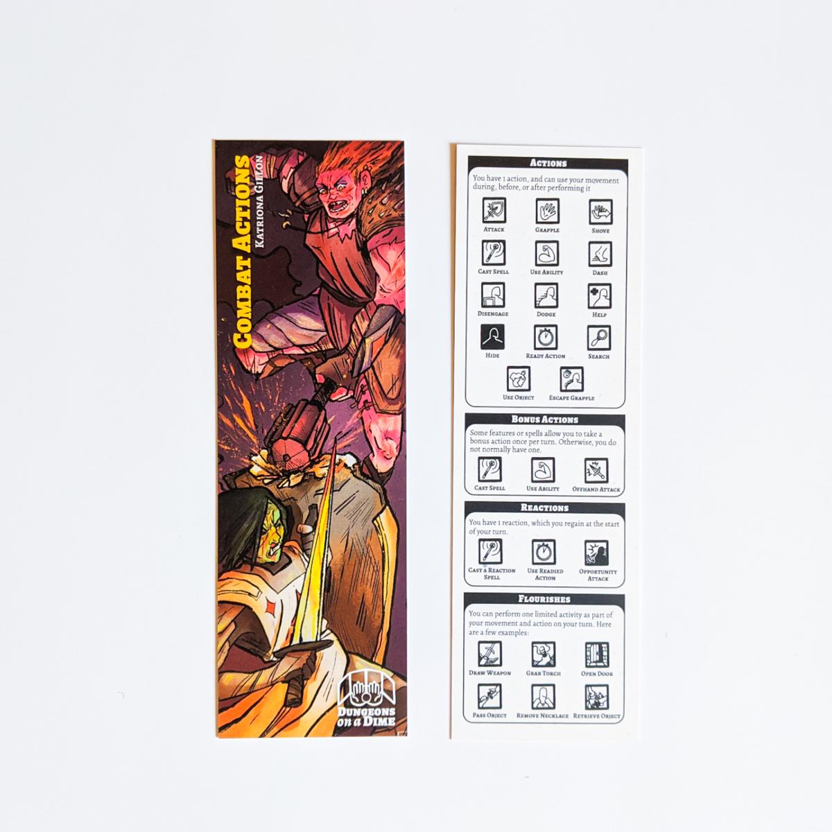 D&D Bookmarks