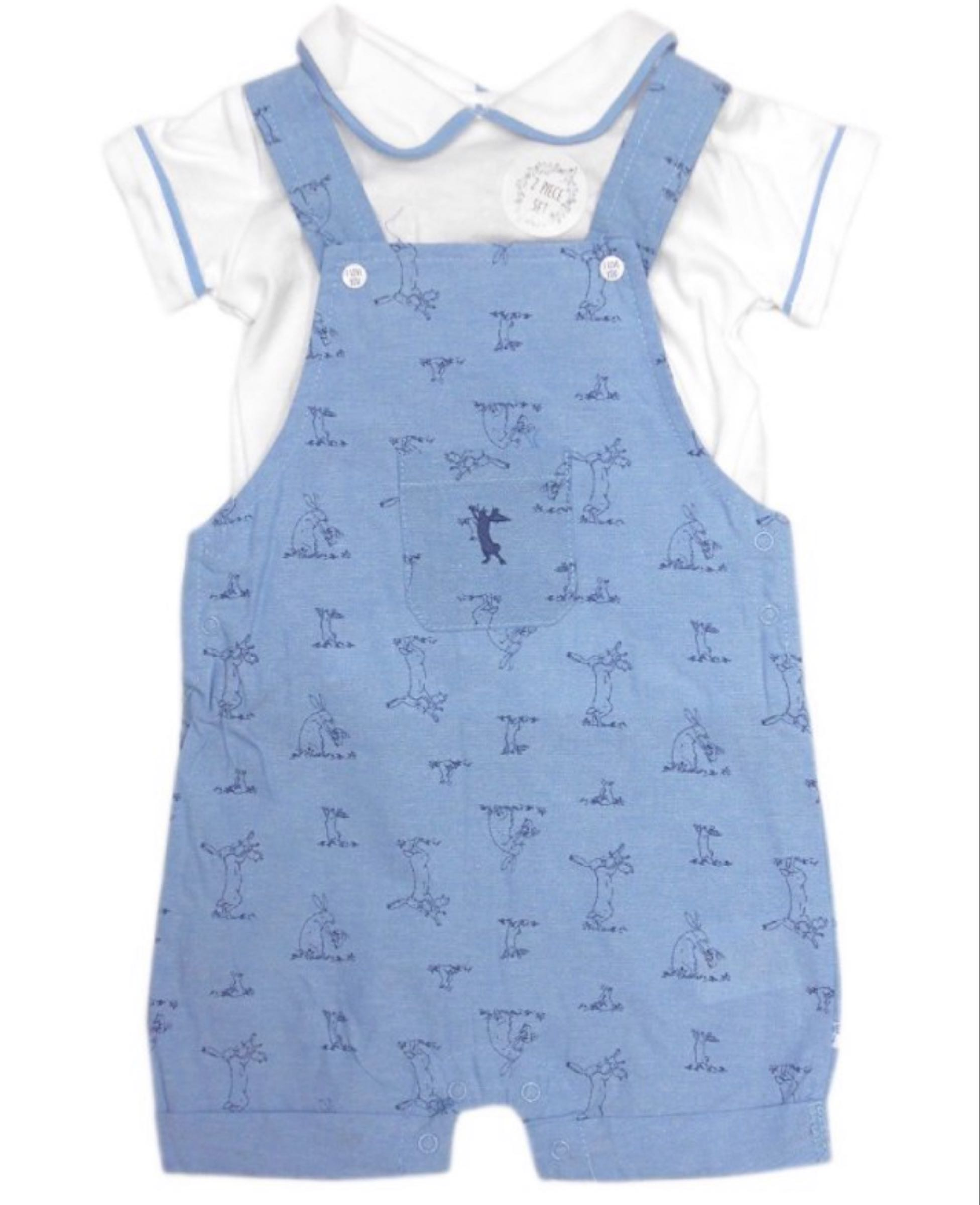 Guess How Much I Love You top  and dungarees