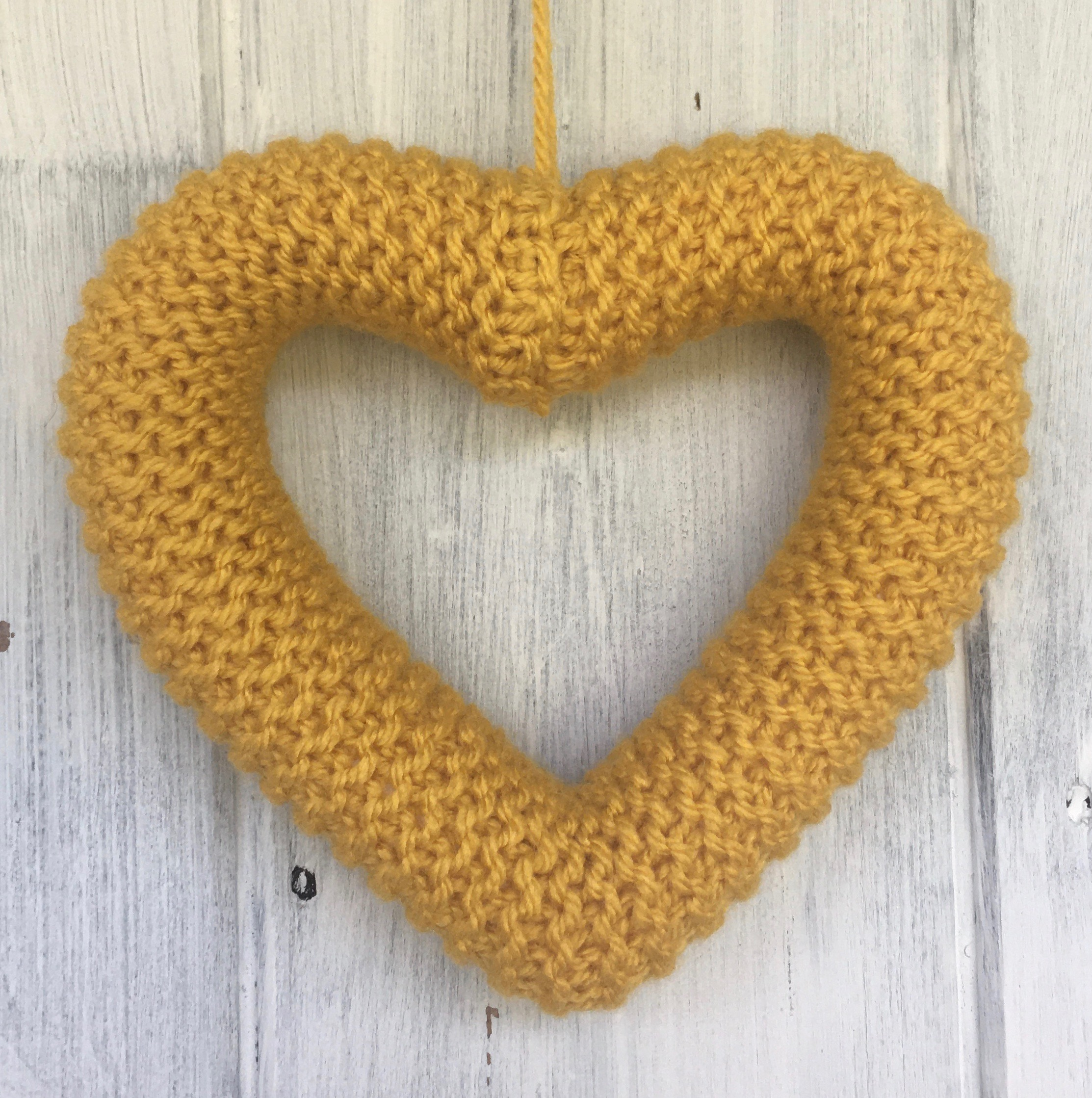 Knit a Heart kit, knit your own heart