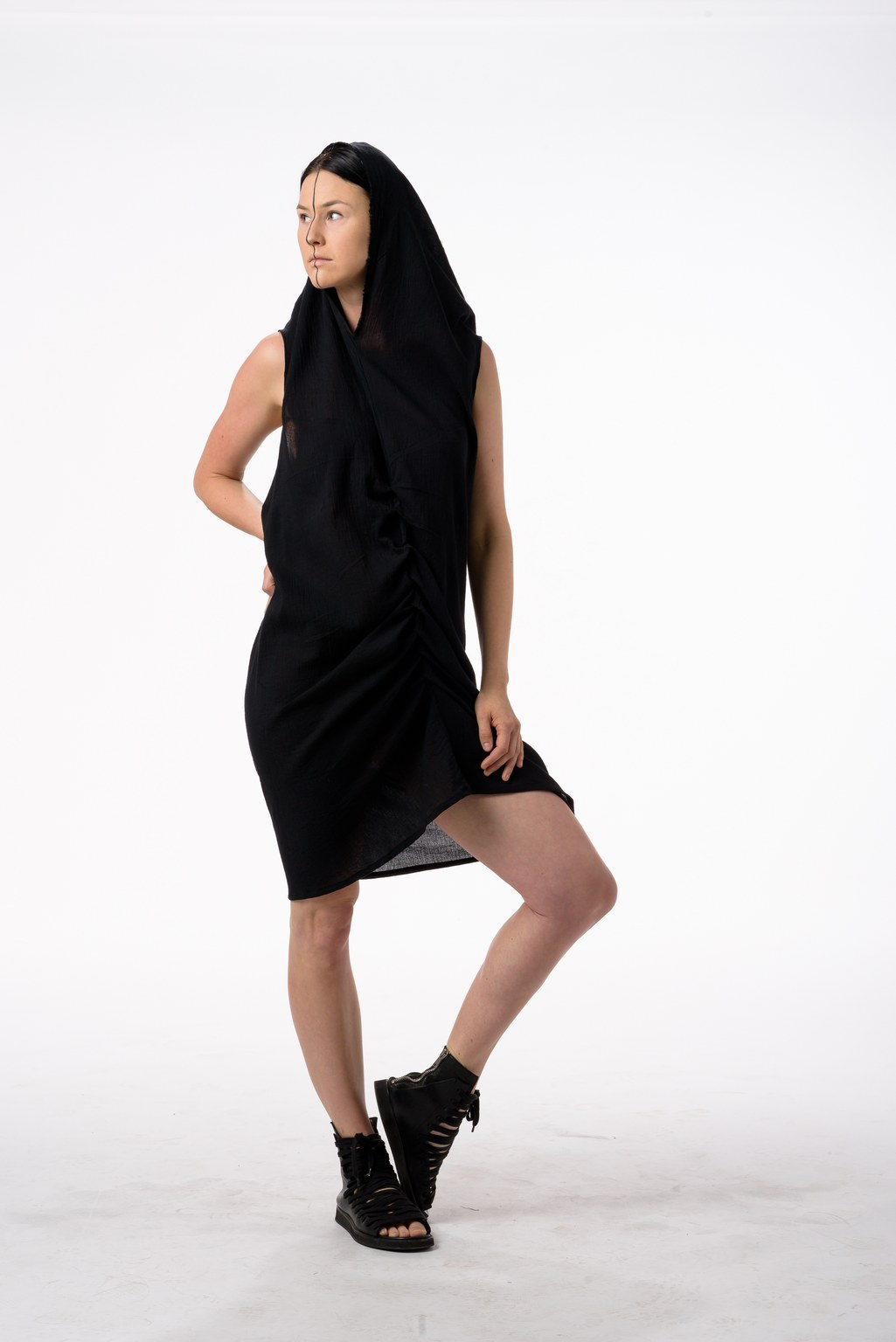 COTTON FOLD DRESS
