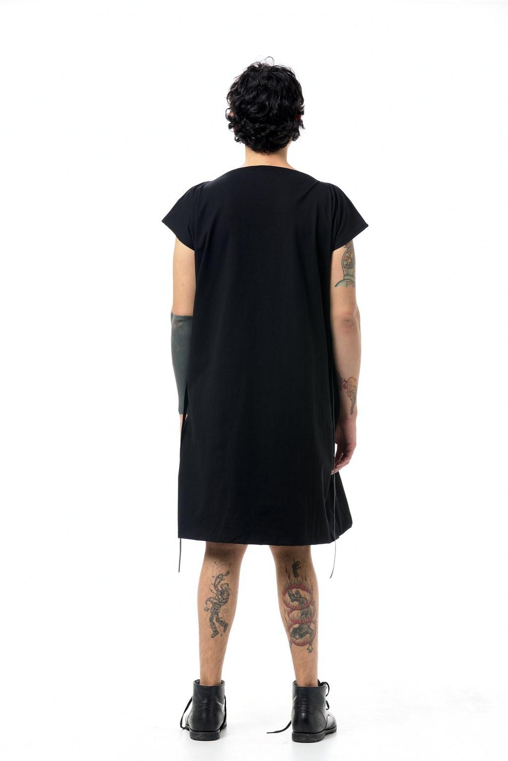 TWIST DRESS JERSEY