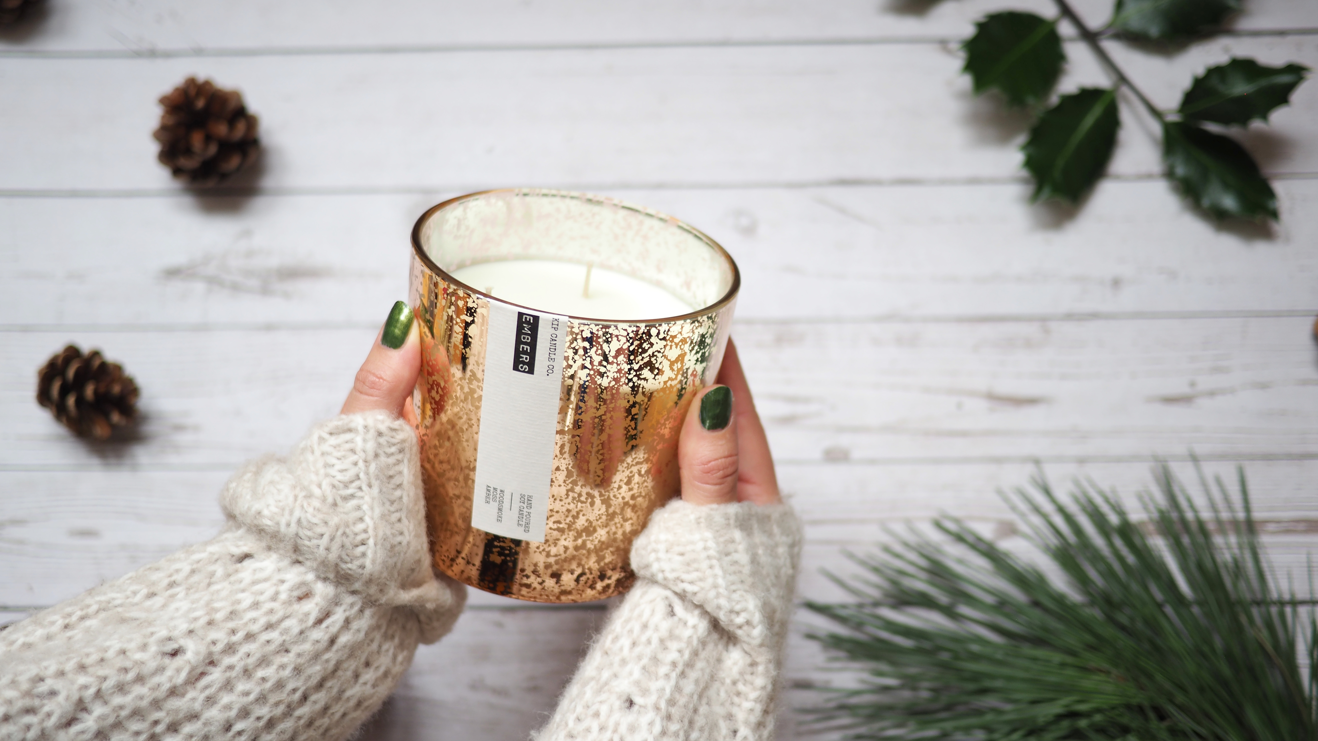 Embers Coffee Table Candle