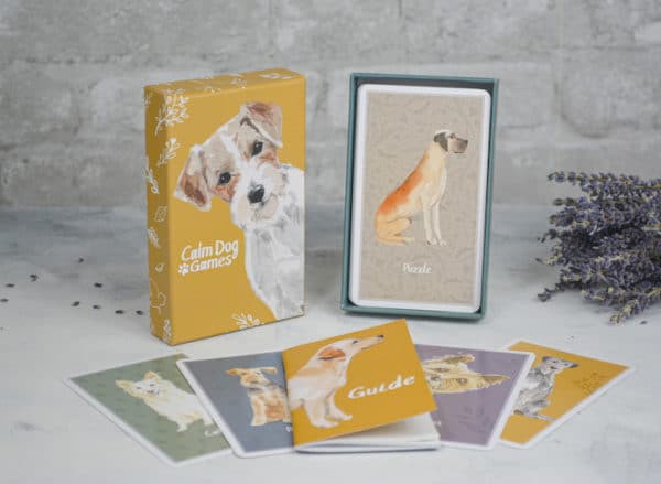 Brain Games for Dogs - Calm Dog Games Cards
