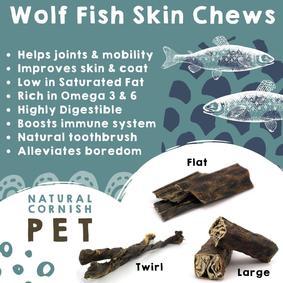 Wolf Fish Stick Chew