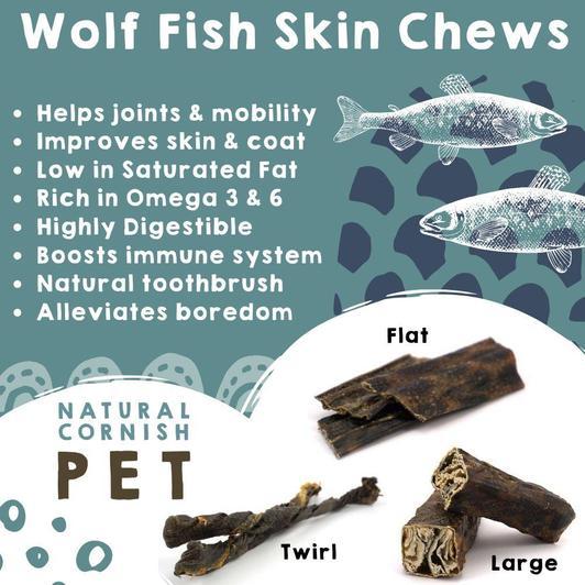 Wolf Fish Flat Chew