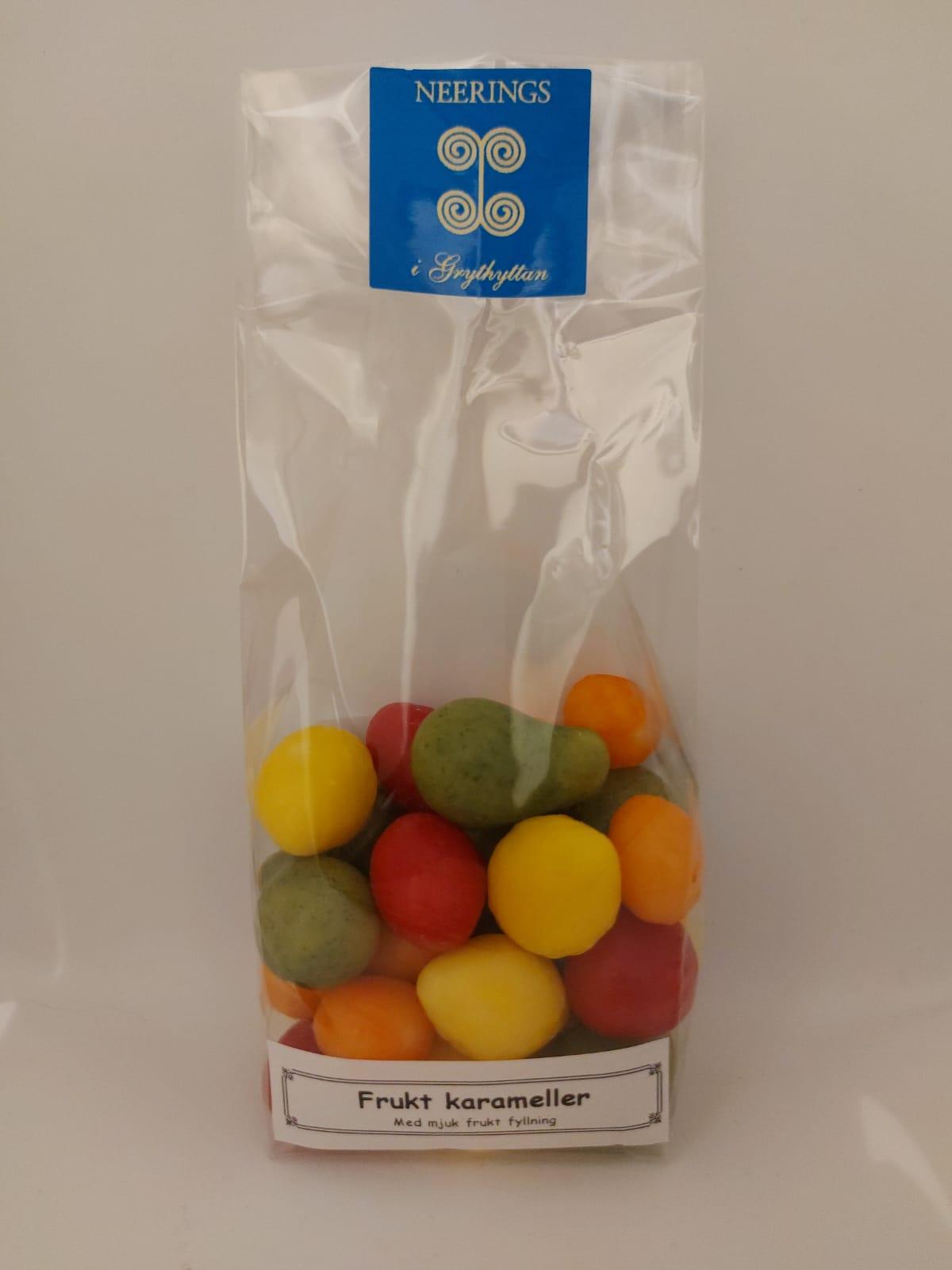 Frukt karameller