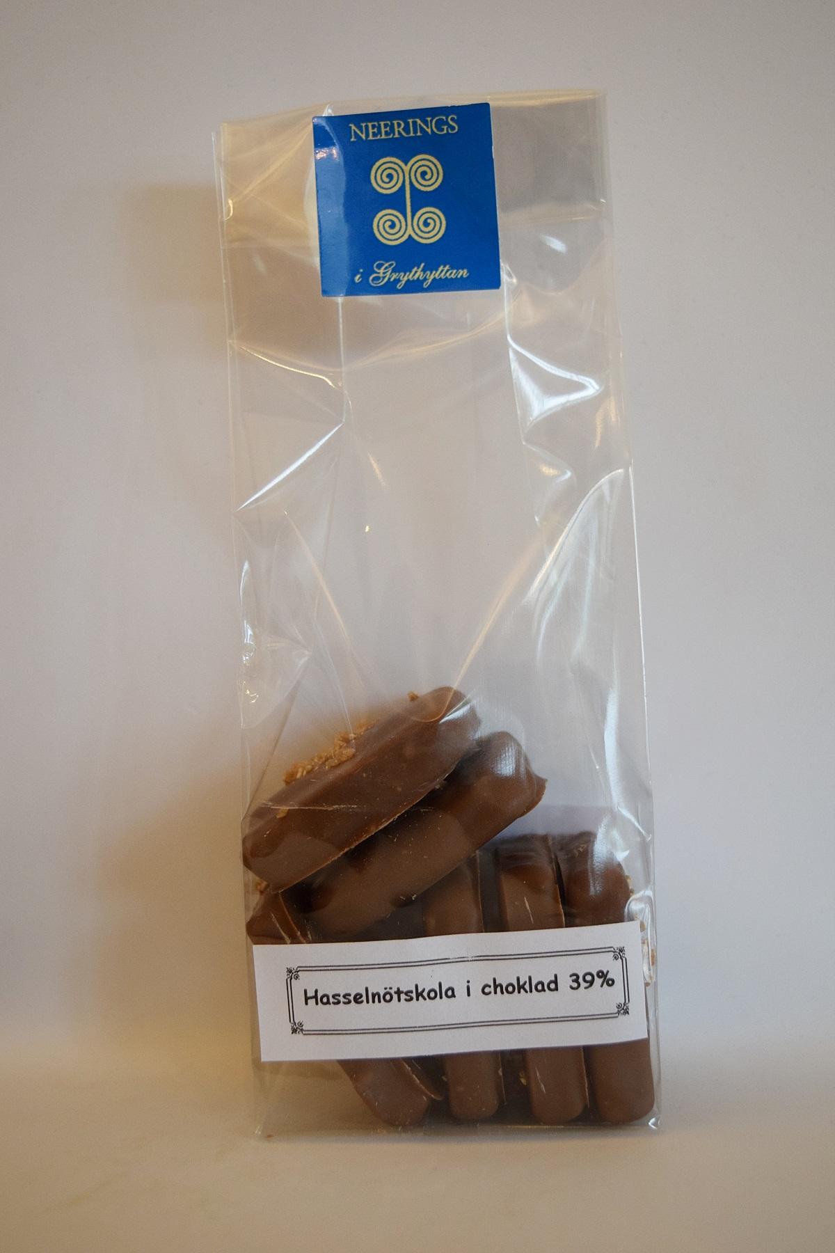 Vaniljkola i 39% choklad