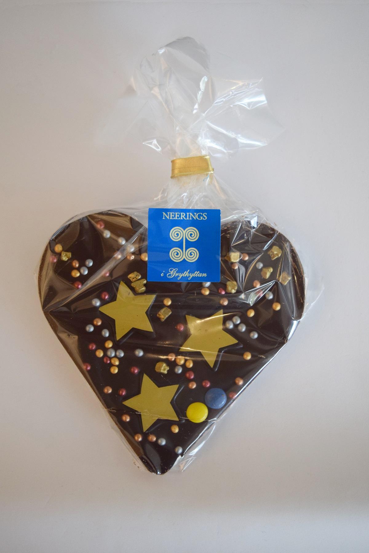 Mörkt Chokladhjärta