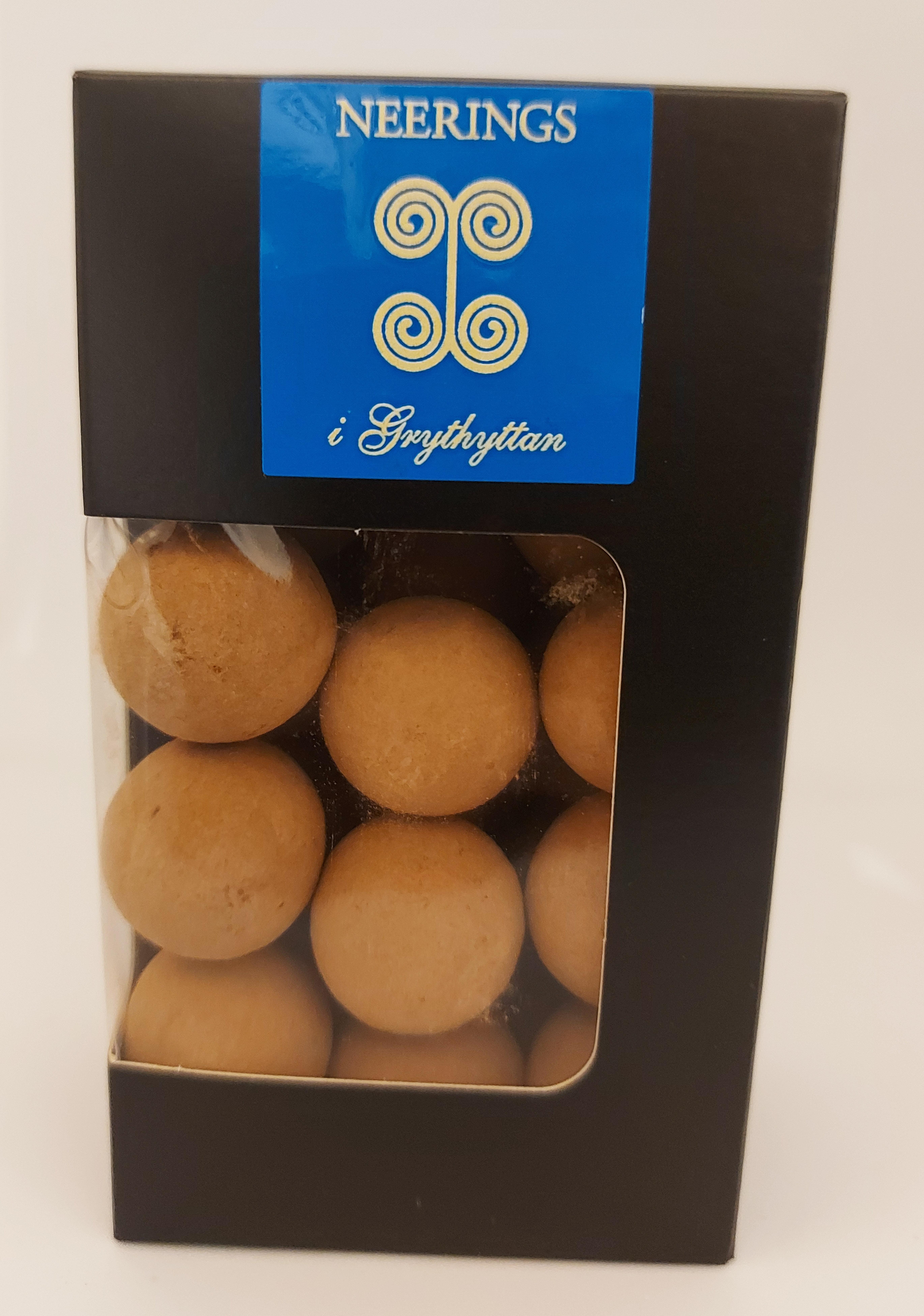 Choklad-marsipan bollar