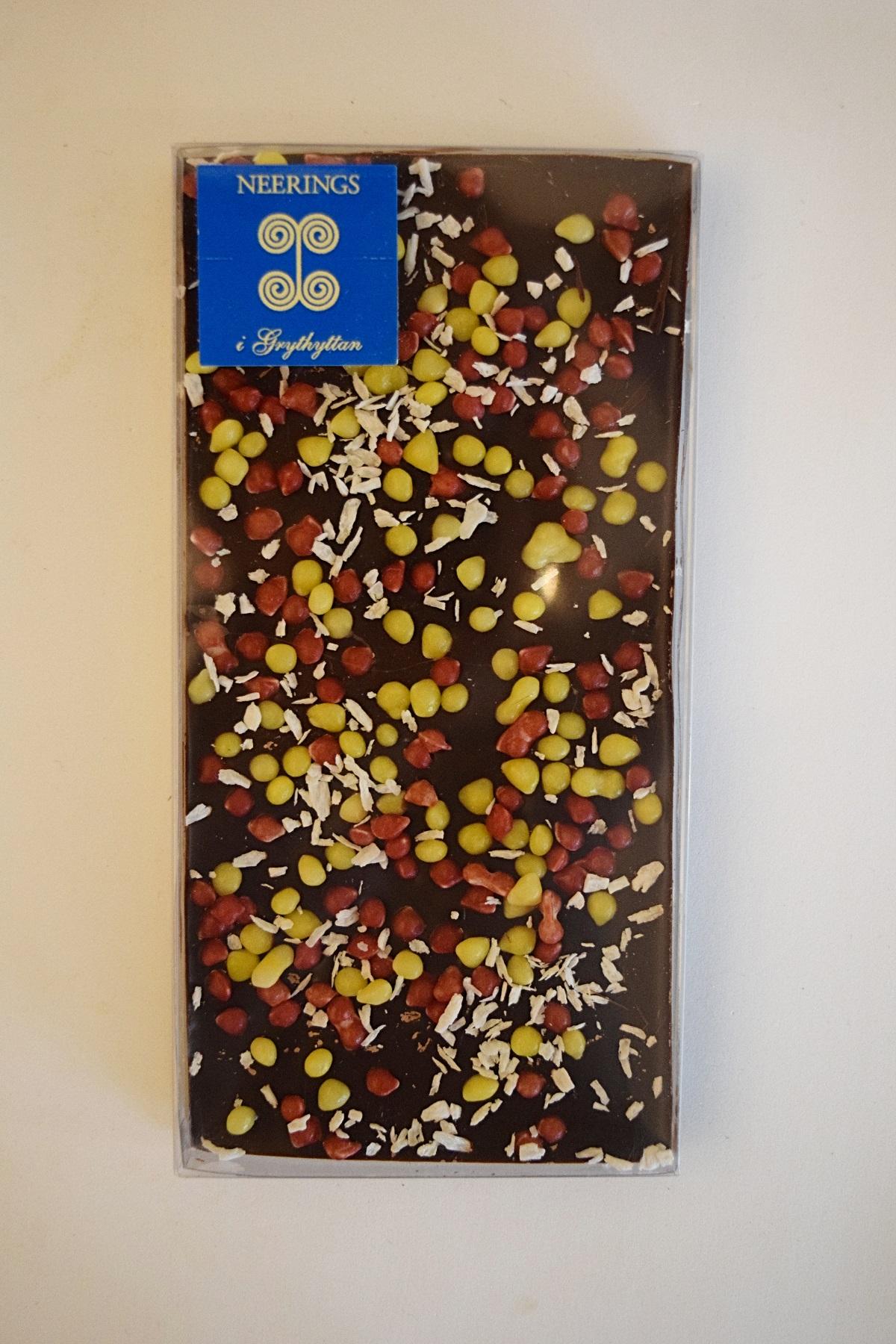 Mörk chokladkaka hot hawaii