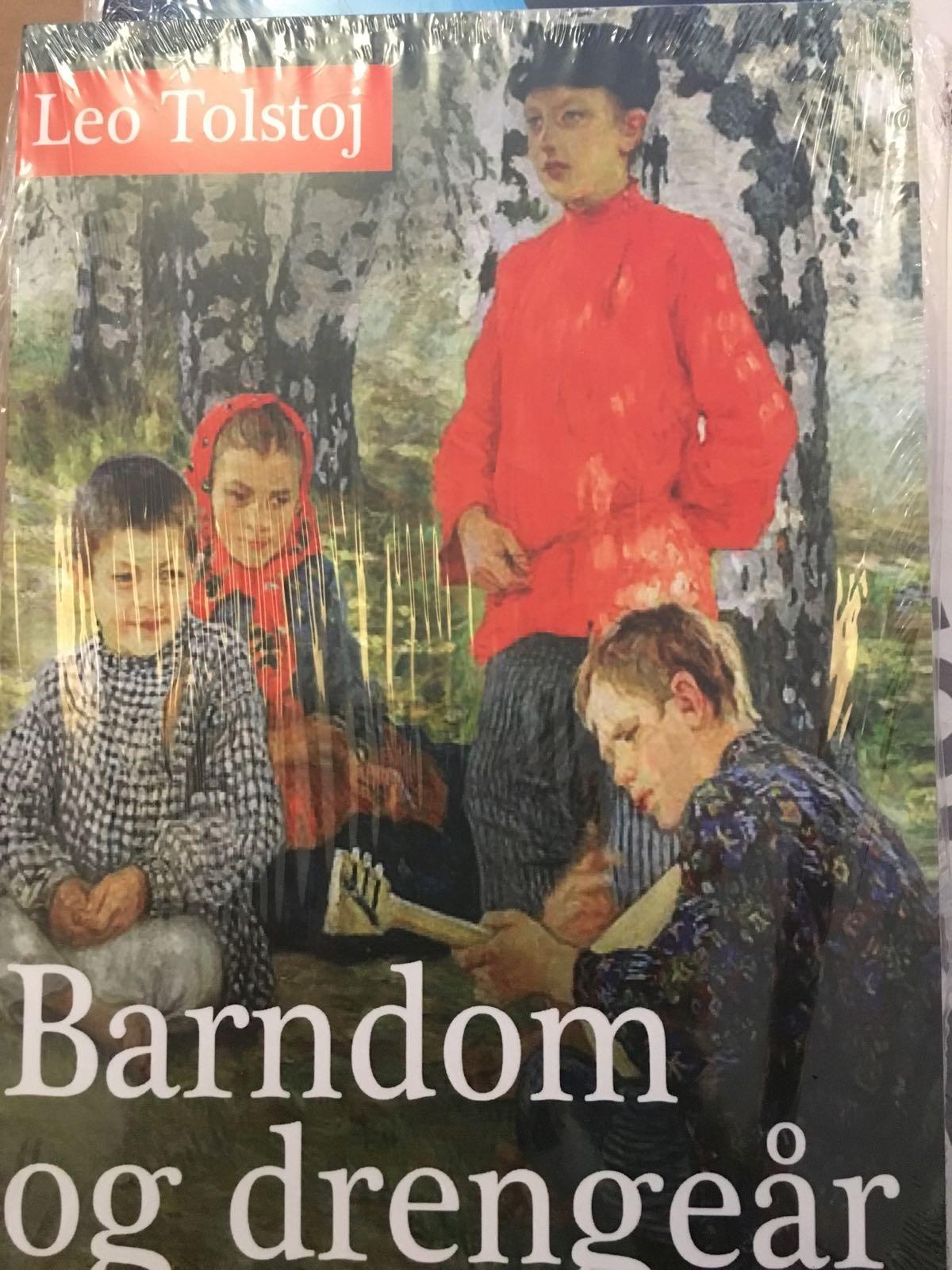 Barndom og drengeår af Leo Tolstoj