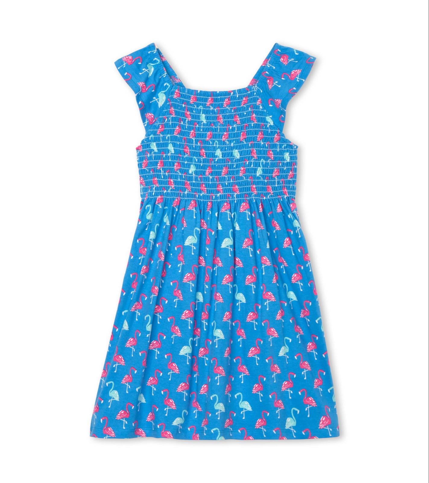 Hatley Fancy Flamingos Smocked Dress