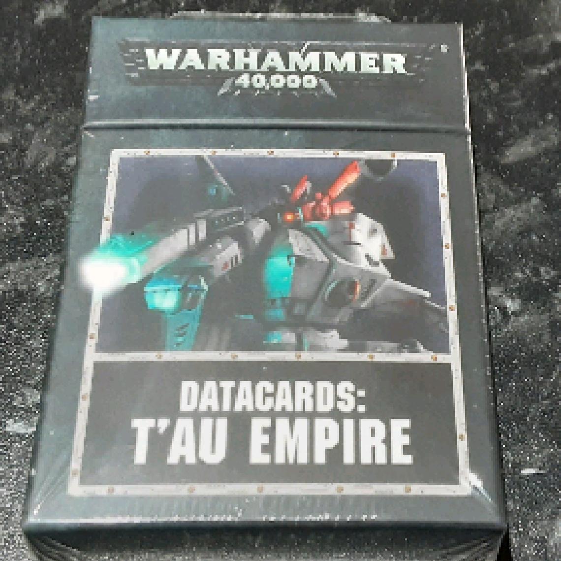 Datacards: Tau Empire