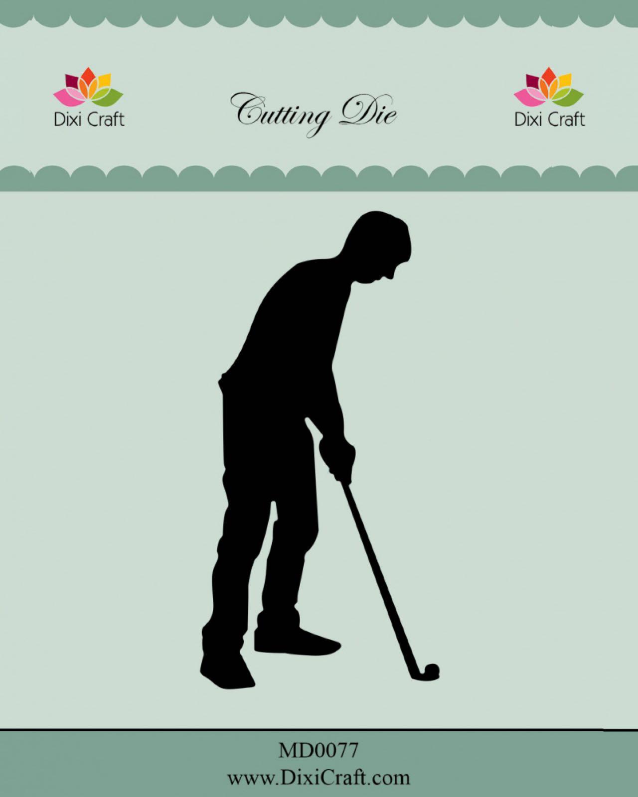 Dixi craft cutting die golf