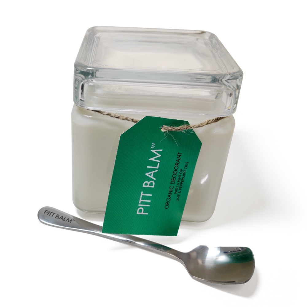 Bergamot & Black Pepper Pitt Balm Organic Deodorant Refill