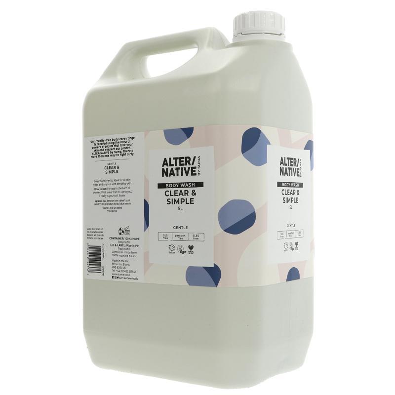 Clear & Simple Bodywash ( alter/native, suma)