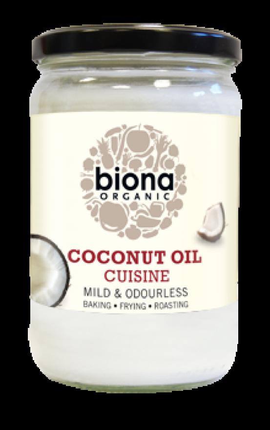 Organic 610ml Mild Coconut Oil Cuisine