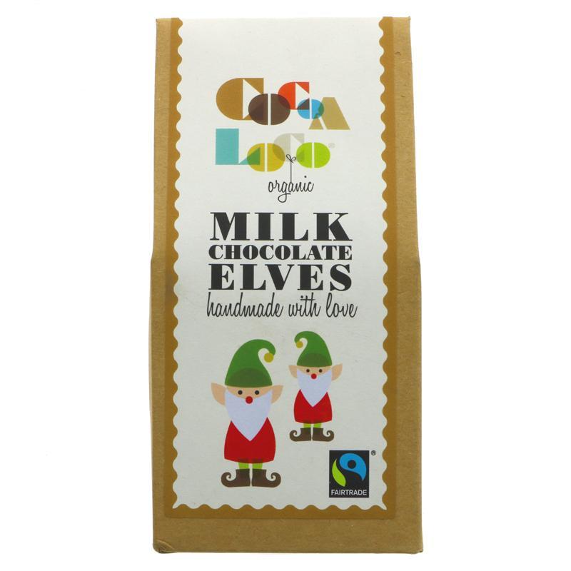 Milk Chocolate Elves (Cocoa Loco, Organic)