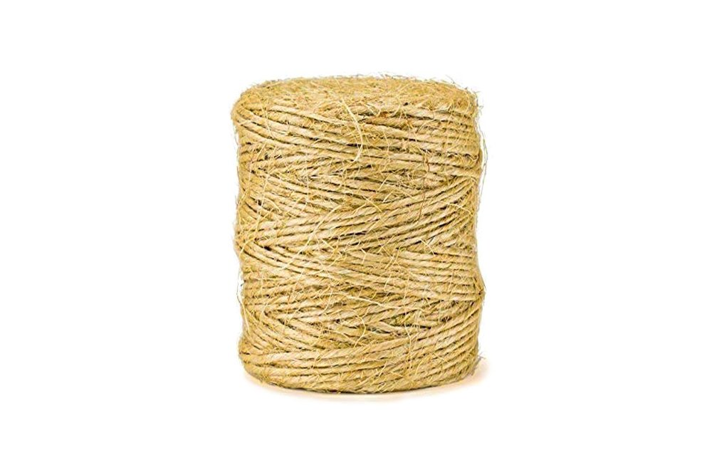 Jute Twine NATURAL Thin 3ply 75mt