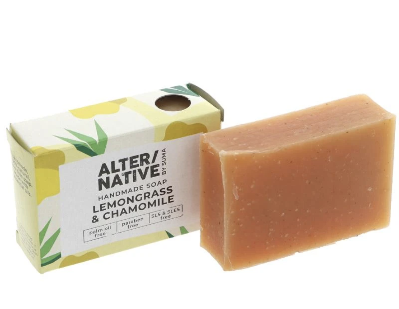 Lemon Grass and Chammomile Soap 95G (alter/native)