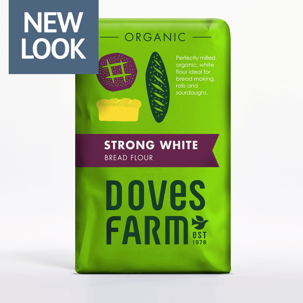 1.5KG Strong White Flour doves (organic)
