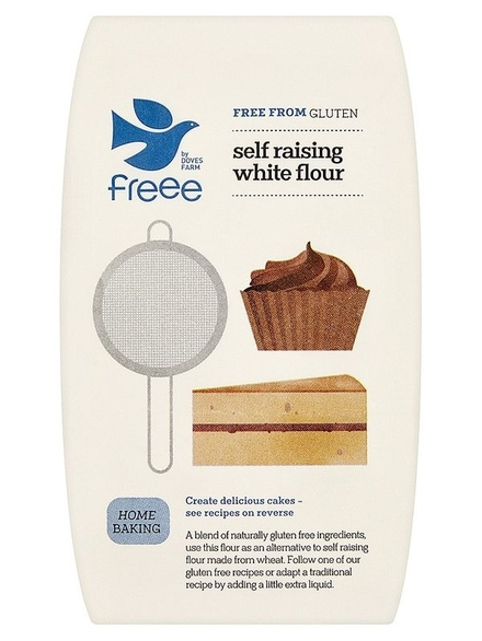 Gluten Free Self-Raising Flour doves (organic)