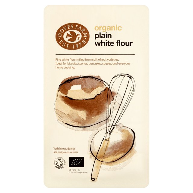 1KG Plain White Flour Doves Bag (organic)