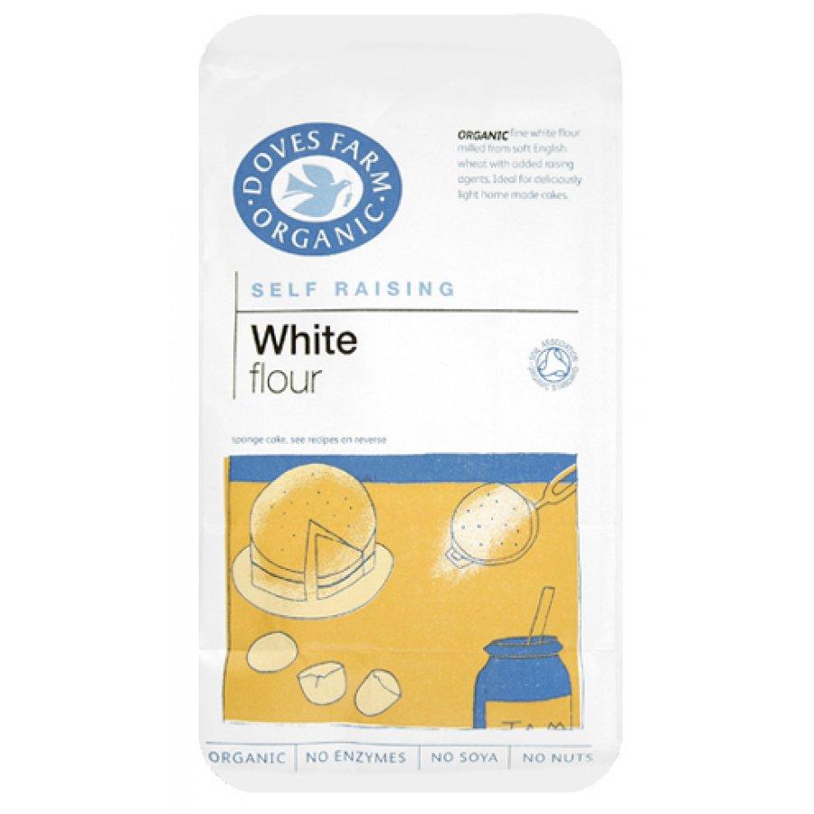 1KG Self Raising White Flour Doves (organic)