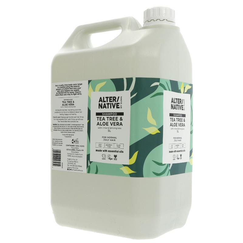 Tea Tree & Aloe Vera Shampoo (alter/native, suma)